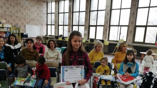 Единадесетгодишна ученичка от Дойче шуле е най-четящото дете на Русе за 2019 г.