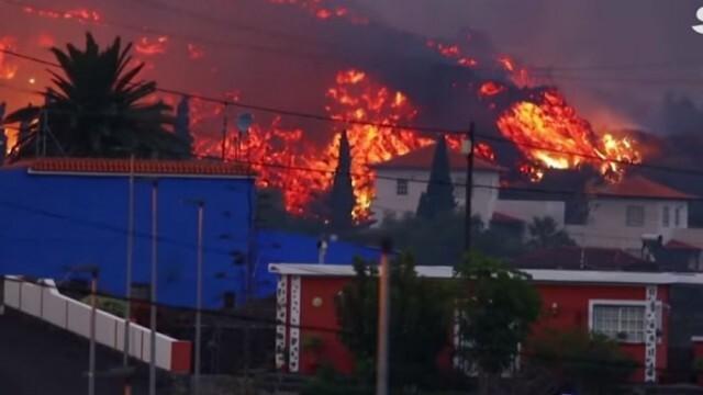 Огнен ад: Близо 6000 души са евакуирани от канарски остров заради изригването на вулкан (ВИДЕО)