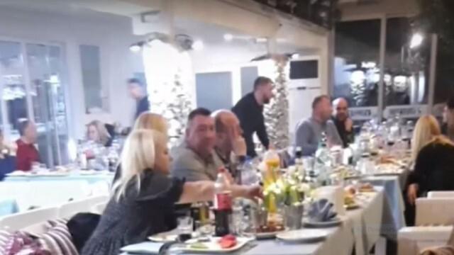 Намеса на жандармерия и глоби за 55 участници в незаконен купон с участието на Милко Калайджиев