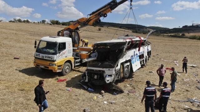 12 жертви на автобусна катастрофа в Египет
