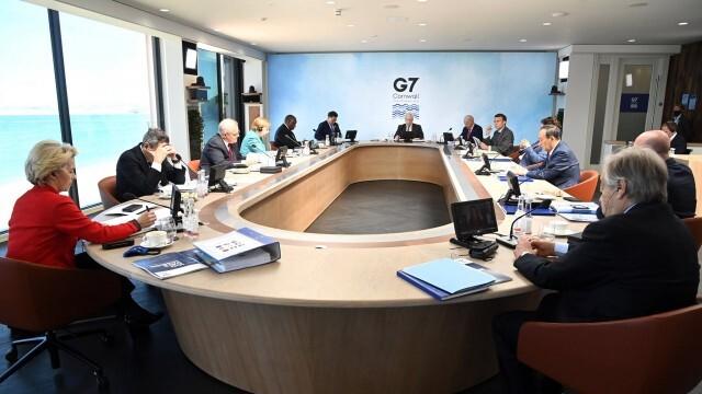 Лидерите от Г-7 се договориха за по-твърда позиция към Пекин