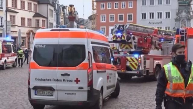 Автомобил се вряза в пешеходци в германския град Трир, има жертви (ОБНОВЕНА)