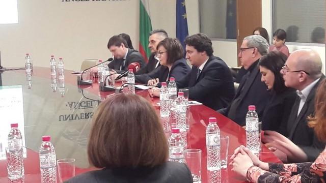 Корнелия Нинова се срещна с академичното ръководство на Русенския университет