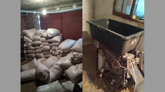 Разкриха поредна нелегална фабрика за тютюн, иззети са близо 2,7 тона безакцизна стока