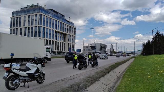 Започна полицейска операция, насочена към мотоциклетистите