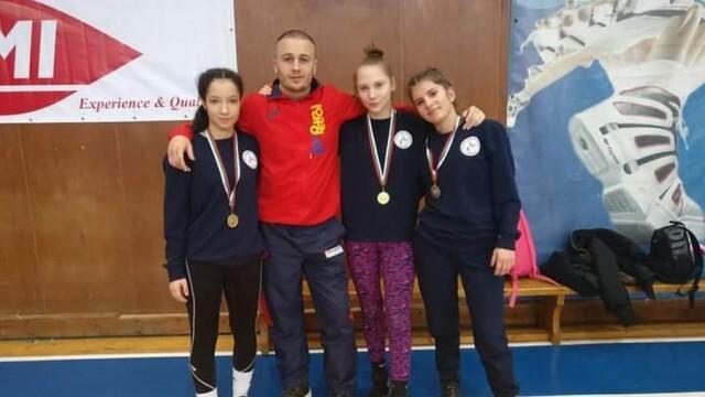 Плевенски състезателки с призови класирания в Държавното по борба за кадетки