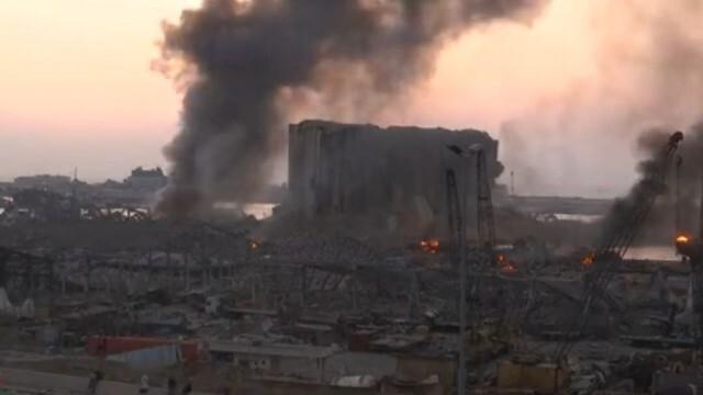 Силна експлозия разтърси морското пристанище в Бейрут (видео)