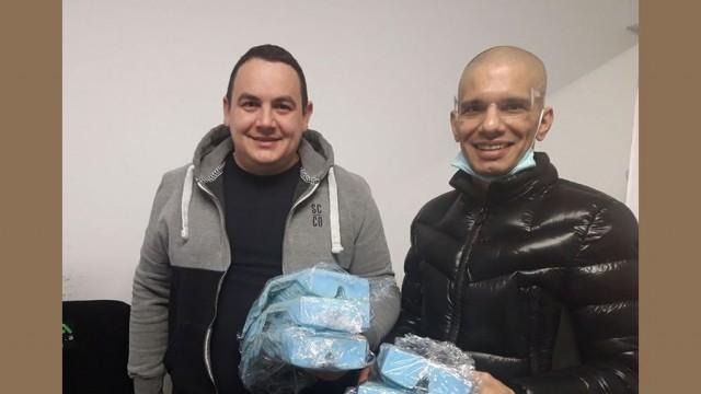 Дарения на предпазни средства получиха в Община Пордим