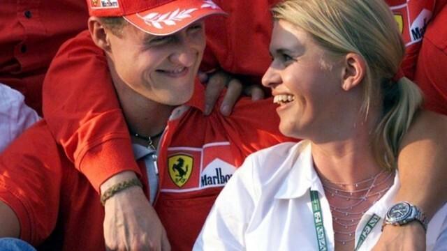 Съпругата на Шумахер: Михаел е различен, но е тук
