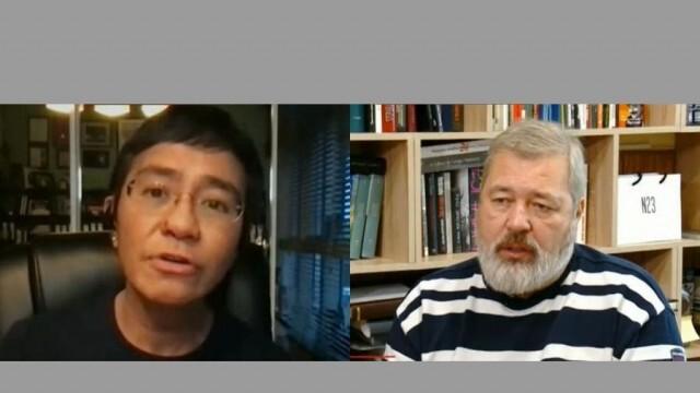 Двама журналисти са носители на Нобеловата награда за мир за 2021