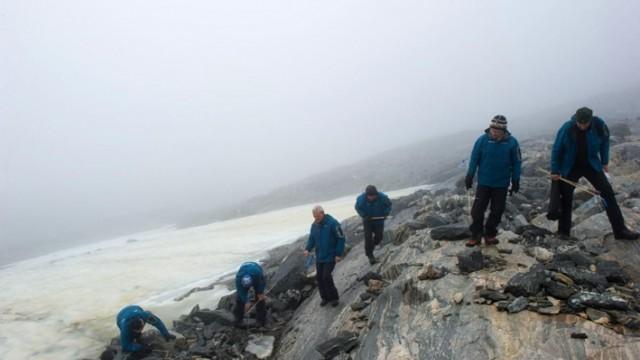 Древен проход на викингите се откри при топене на ледници