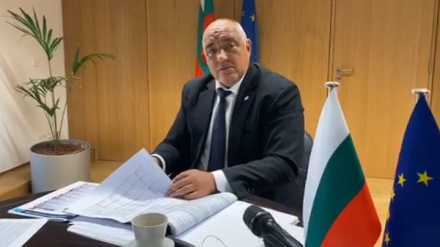 Борисов е с отрицателен тест за коронавирус