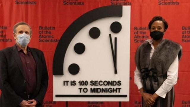 Часовникът на Страшния съд показва 100 секунди до полунощ, какво означава това?