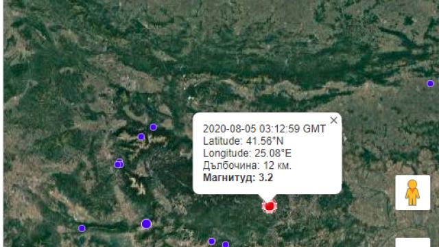 Земетресение разлюля Мадан