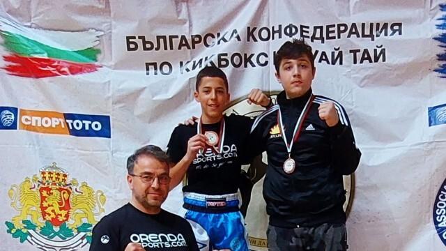 Бронзови медали за бойците от спортен клуб
