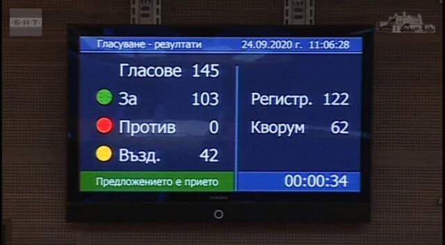 Парламентът прие предложението на ВМРО за доброволната военна служба