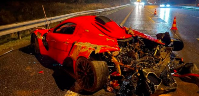 Суперавтомобил на Росен Даскалов катастрофира в Чехия
