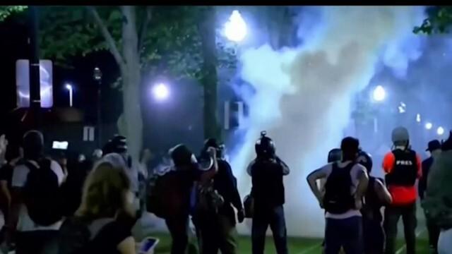 Извънредно положение в Уисконсин: Протести в щата се изродиха в палежи и мародерства