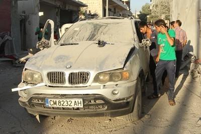 Номерата на взривеното БМВ в Сирия са от продаден Нисан преди 3 години