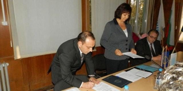 Новият кмет и общински съветници на Белене положиха клетва
