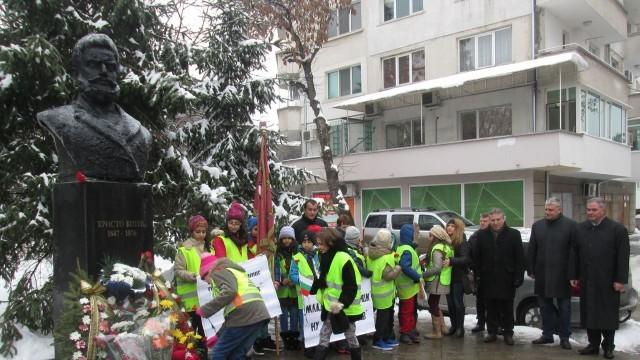 Плевен чества 168-ата годишнина от рождението на Ботев /Снимки/