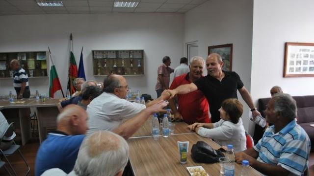 Пламен Стоилов се срещна с офицерите и сержантите от запаса и резерва