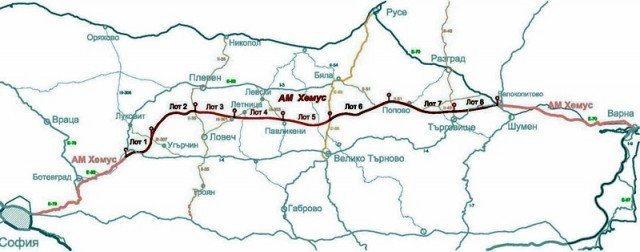 """Започват процедурите по изграждането на автомагистрала """"Хемус"""" от Ябланица до разклона Плевен - Ловеч"""