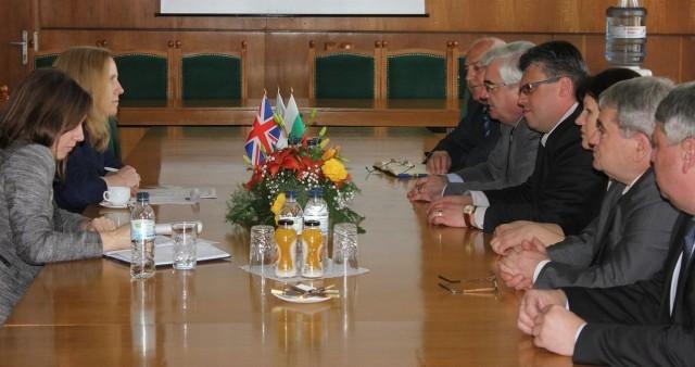 Посланикът на Великобритания посети Плевен