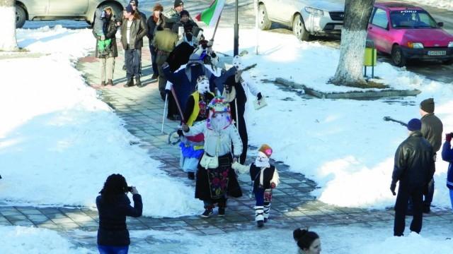 Кукери гониха злите сили в село Ленково