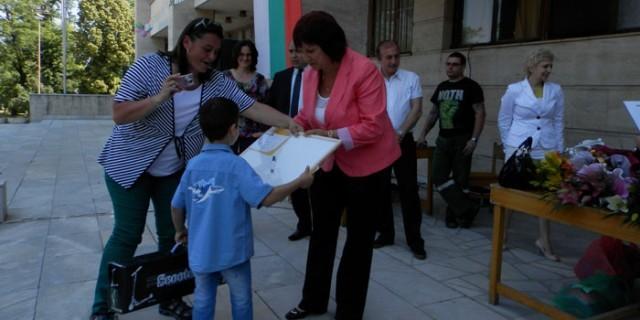 Плевен: Връчиха наградите от областен конкурс за детски рисунки