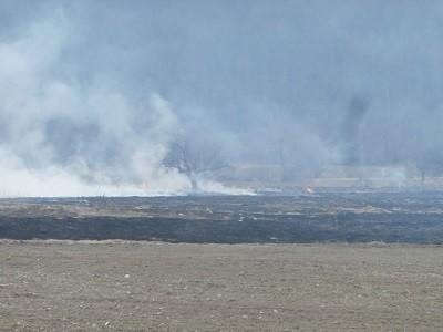 Ловеч: Десет запалени стърнища и ливади със суха трева гасиха вчера огнеборците
