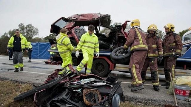 7 загинали в зверска катастрофа в Испания