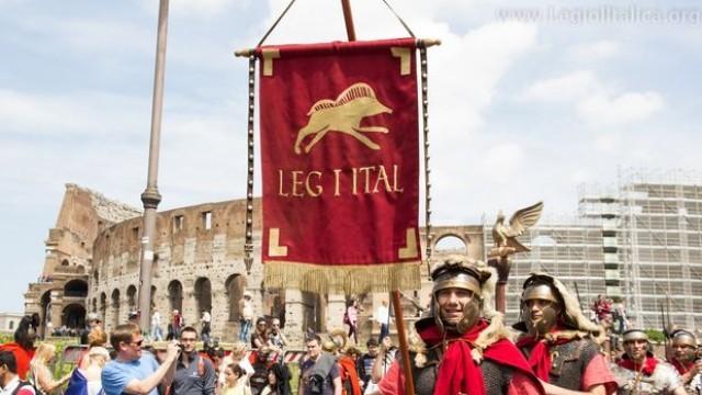 Свищовски легионери на парад и битка в Рим за годишнината на Вечния град