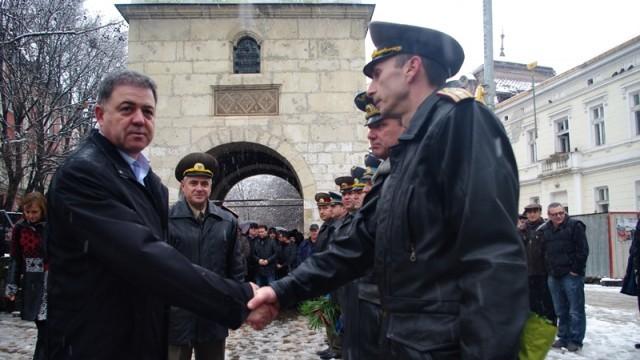 Военният министър в Плевен: Реформите са задължителни