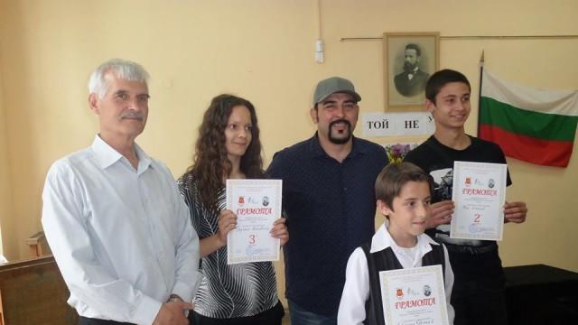 Плевен: Устата връчи наградите на музикален конкурс по стихове на Ботев