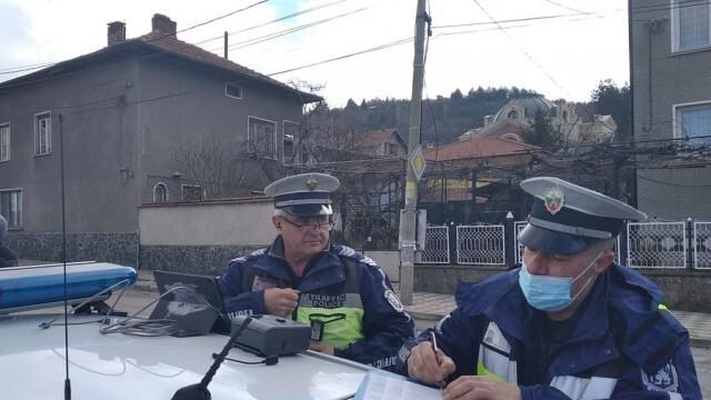 До 20 януари: Специализирана полицейска операция за безопасност на движението в малките населени места