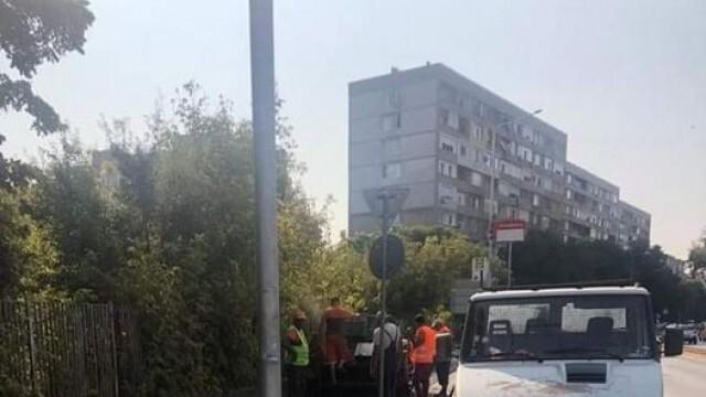 """Слагат маркировка, колите да не паркират по бул. """"Македония"""""""
