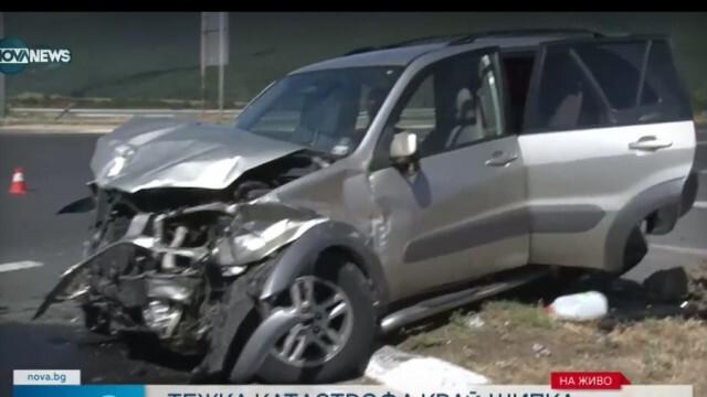 38-годишна жена загина при тежка катастрофа, рязаха колата й, за да извадят ранените