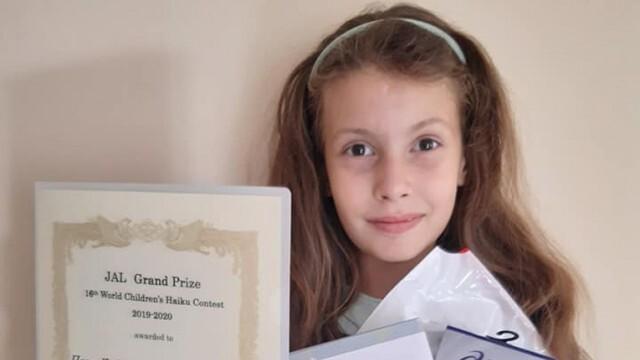 """В Иран награждават русенско момиче за рисунка на тема """"COVID-19"""""""