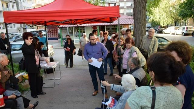 Народният представител Пенчо Милков отчете дейността си