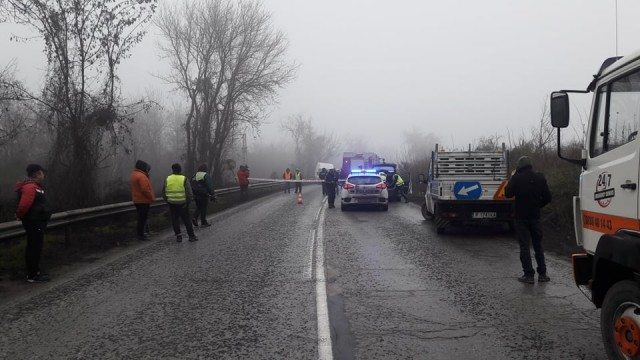 Четирима ранени в катастрофа при разклона за Пиргово,  пътят  Русе-Бяла затворен (ОБНОВЕНА)