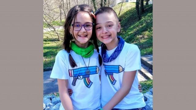 9-годишни близнаци от Плевен са отличени в онлайн конкурс на тема борба срещу коронавируса