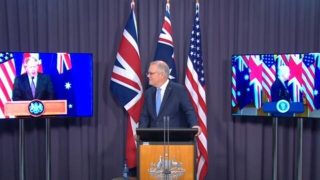 САЩ, Великобритания и Австралия обявиха общ пакт за сигурност