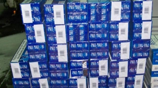 Митничари спипаха 470 кутии безакцизни цигари на