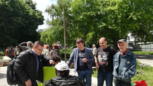 Народни представители от БСП се срещнаха с избиратели от район