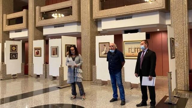 Николай Караджов празнува 70-годишен юбилей с изложба