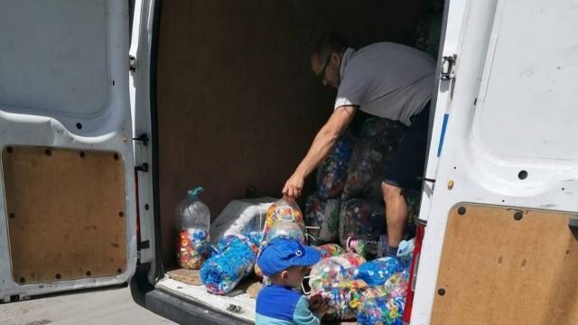 Над 500 кг капачки събраха беленчани за детска линейка