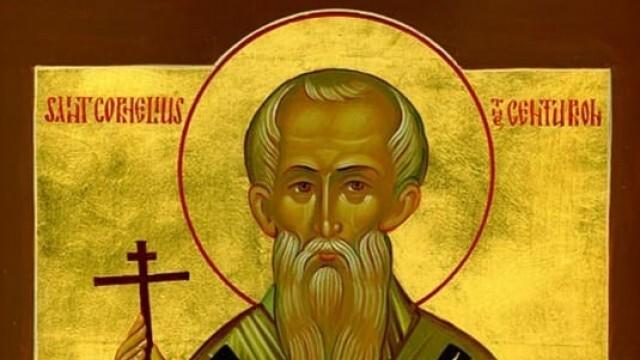 Почитаме паметта на св. свещеномъченик Корнилий стотник