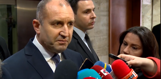 Поредна престрелка между президента Радев и премиера Борисов