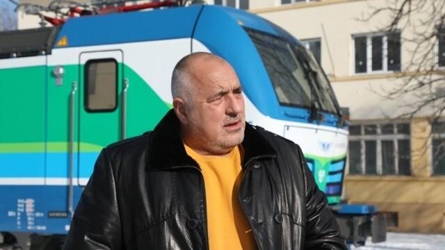 Борисов: БДЖ вече разполага с най-добрите локомотиви в света